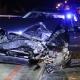 Stalowa Wola: DW-855: BMW wyprzedzało na trzeciego. Zderzyło się czołowo z Audi. 1 osoba ranna