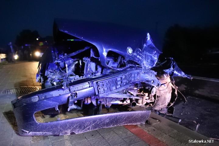 Do zderzenia dwóch pojazdów doszło na Drodze Wojewódzkiej nr 855 w miejscowości Musików (gmina Radomyśl nad Sanem).