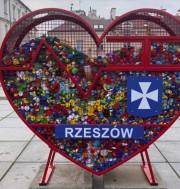 Wzorem Rzeszowa na ulicach Stalowej Woli mają szansę pojawić się pojemniki na plastikowe nakrętki, w kształcie serca.
