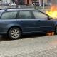 Stalowa Wola: Pożar auta na górce rozwadowskiej