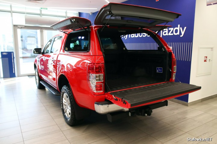 Ford Ranger dla OSP Jastkowice.