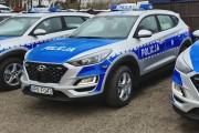 Na wyposażenie komend policji na Podkarpaciu trafiły nowe pojazdy marki Hyundai Tucson. Jeden z pojazdów będzie w Stalowej Woli.
