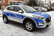 Oznakowane radiowozy marki Hyundai Tucson trafiły do policjantów z posterunku w Zbydniowie i posterunku w Pysznicy.