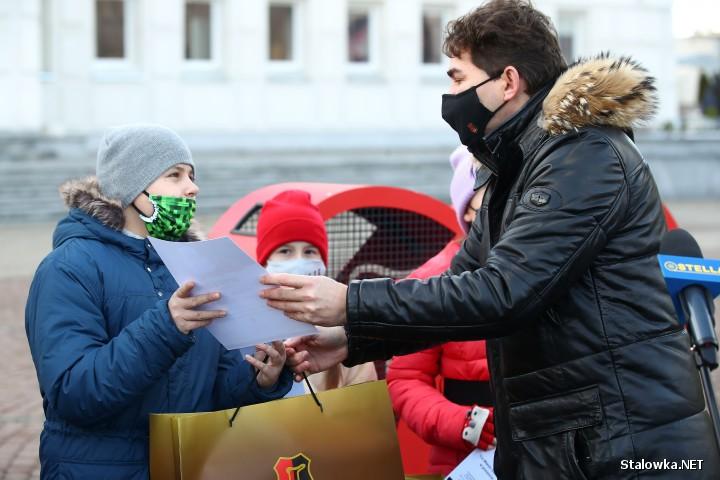 Inauguracja akcji Stalowa Wola pomocnych serc.