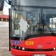 Stalowa Wola: Oblał farbą miejski autobus elektryczny