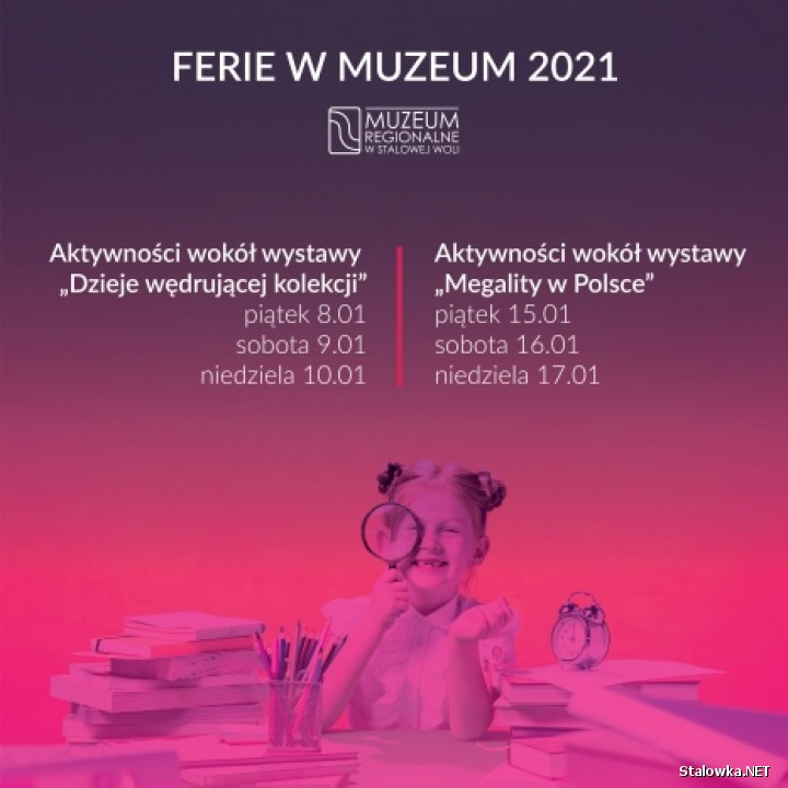 Ferie w Muzeum 2021 - online