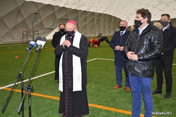 13 stycznia zaprezentowano halę pneumatyczną, nad jednym ze stadionów należących do kompleksu Podkarpackiego Centrum Piłki Nożnej w Stalowej Woli na ulicy Hutniczej.