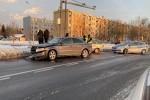 Na skrzyżowaniu Al. Jana Pawła II z ul. Komisji Edukacji Narodowej doszło do kolizji.