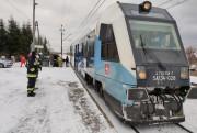 W miejscowości Turbia (gmina Zaleszany) doszło do wypadku drogowo-kolejowego z udziałem szynobusa i samochodu osobowego.