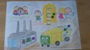 Praca autorstwa dzieci z przedszkola przy Zespole Szkół nr 6 Specjalnych.