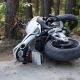 Stalowa Wola: Motocylista wjechał w drzewo. Dwie osoby ranne. Wezwano śmigłowiec LPR