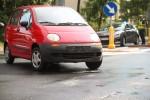 Na ulicy Adama Mickiewicza doszło do wypadku drogowego z udziałem skutera, w którym dwie osoby zostały ranne.