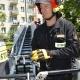 Stalowa Wola: Na Siedlanowskiego strażacy interweniowali do uwięzionego między gałęziami ptaka