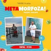 Pan Rafał schudł 24 kilogramy!