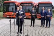 Na nadsańskich błoniach gościł minister klimatu i środowiska Michał Kurtyka.