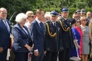 Na placu komendy zorganizowany został apel z pełnym ceremoniałem.