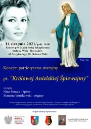 Koncert Niny Nowak w zabytkowej farze.