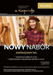 Serdecznie zapraszamy dzieci i młodzież do zapisów na kursy Szkoły Rysunku i Malarstwa Karpiński. To doskonała okazja, aby w gronie rówieśników rozwijać swoje pasje.