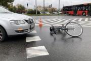 39-letnia rowerzystka potrącona przy Patriocie.