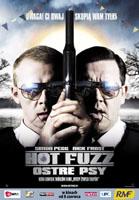 Plakat: Hot Fuzz Ostre Psy