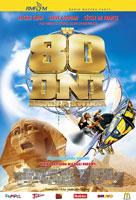 Plakat: W 80 dni dookoła świata