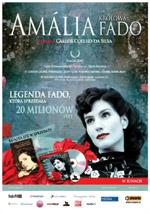 Plakat: Amalia. Królowa Fado