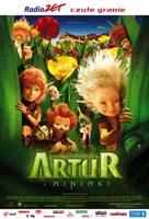 Plakat: Artur i Minimki