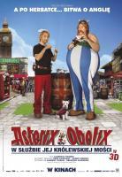 Plakat: Asterix i Obelix w służbie jej królewskiej mości