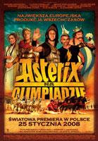 Plakat: Asterix na Olimpiadzie