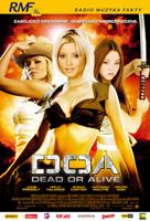 Plakat: DOA: Dead or Alive