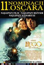 Plakat: Hugo i jego wynalazek