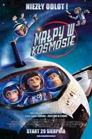 Plakat: Małpy w kosmosie