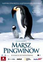 Plakat: Marsz pingwinów