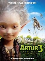 Plakat: Artur i Minimki 3. Dwa Światy