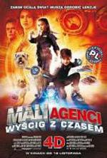 Plakat: Mali Agenci. Wyścig z czasem 4D