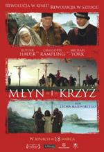 Plakat: Młyn i krzyż