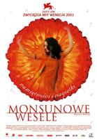 Plakat: Monsunowe wesele