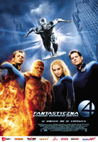 Plakat: Fantastyczna czwórka: Narodziny Srebrnego Surfera