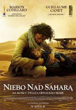 Plakat: Niebo nad Saharą