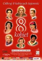Plakat: Osiem kobiet (8 kobiet)