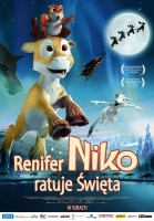 Plakat: Renifer Niko ratuje święta