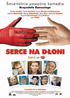 Plakat: Serce na dłoni