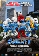 Plakat: Smerfy