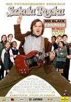 Plakat: Szkoła rocka