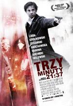 Plakat: Trzy minuty. 21:37