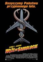 Plakat: Węże w samolocie