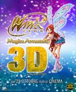 Plakat: Winx. Magiczna przygoda 3D
