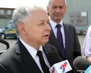 Mimo tego, iż sam Jarosław Kaczyński nie spotkał się z mieszkańcami Stalowej Woli uzyskał znaczne poracie mieszkańców miasta.