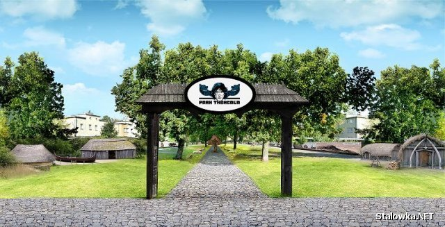 Wizualizacja Parku Thorgala.