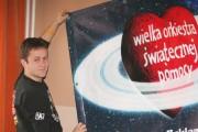 Stalowowolski sztab WOŚP ma nadzieję, że uda im się zebrać rekordowe 50 000 zł (w 2006 r. zebrano 41 900 zł).